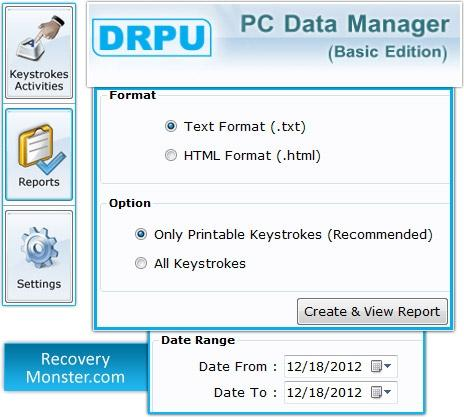 Download Keystrokes Recorder Program