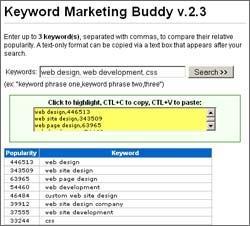 Download Keyword Marketing Buddy