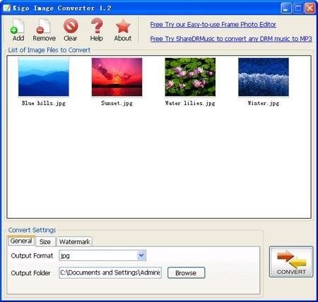 Download Kigo Image Converter