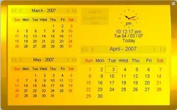 Kybtec Calendar