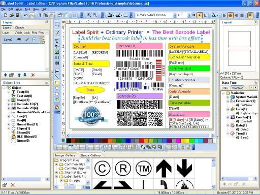 Download Label Spirit Professional 100-User
