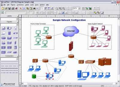 Download LanFlow Net Diagrammer