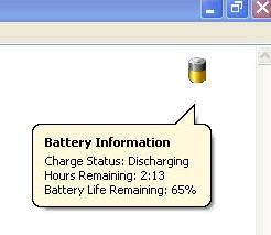 Download Laptop Battery Power Monitor