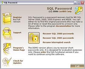 Download Lastbit SQL Password Recovery