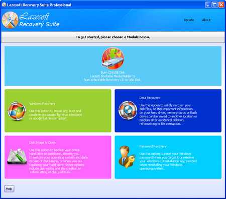 Download Lazesoft Recovery Suite Pro