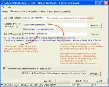 Download LBE Email Scheduler
