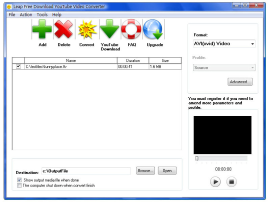 Free video to mp3 converter extract audio tracks from video.