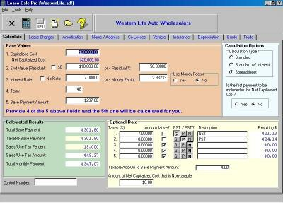 Download Lease Calc Pro