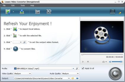 Download Leawo FLV Converter