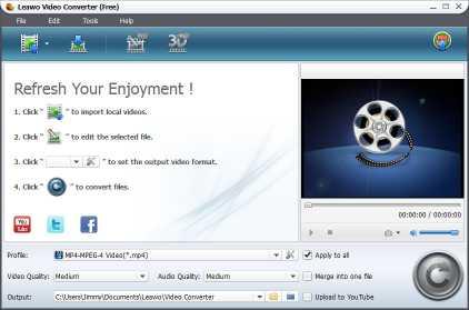 Download Leawo Free FLV Converter