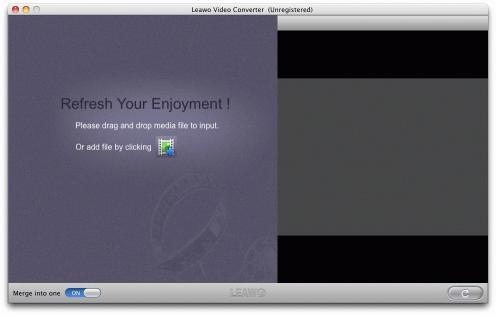 Download Leawo Mac MP4 Converter