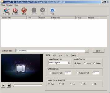 lenosoft MP4 Video Converter