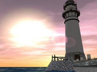 Download Lighthouse 3D screensaver