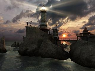 Download Lighthouse Point 3D Screensaver