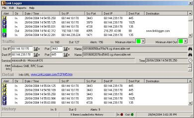 Download Link Logger - Linksys nonProtocol