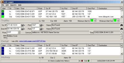 Download Link Logger - Linksys Protocol
