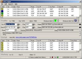 Download Link Logger - Linksys RVS4000/WRVS4400N