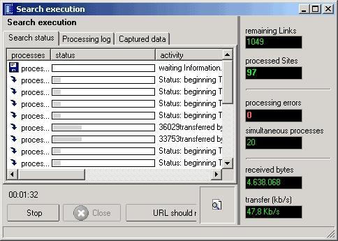 Download Link Web Extractor