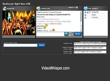 Download Live Webcam Video Streaming Script