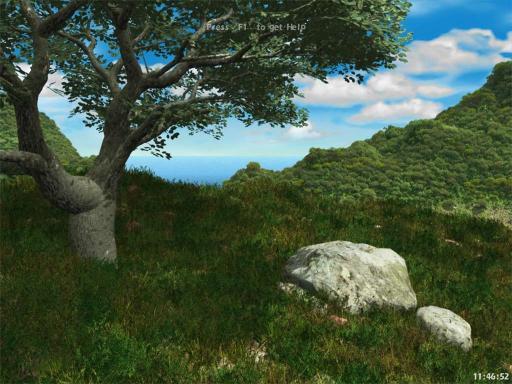 Download Living Landscape ScreenSaver