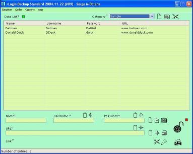 Download Login Backup
