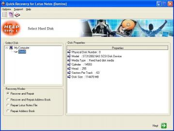 Download Lotus Notes Data Recovery by Unistal
