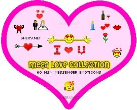 Download Love Emoticons