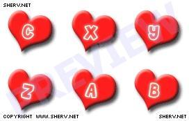 Download Love Initials Display Pictures