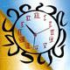 lucent clock screensaver
