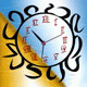 luminescent clock screensaver