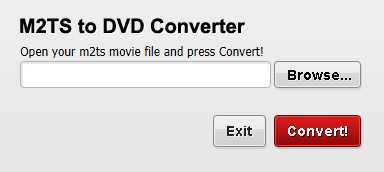M2TS to DVD Converter