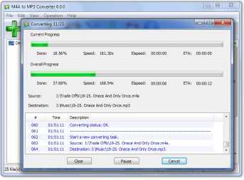 Download M4A to MP3 Converter free