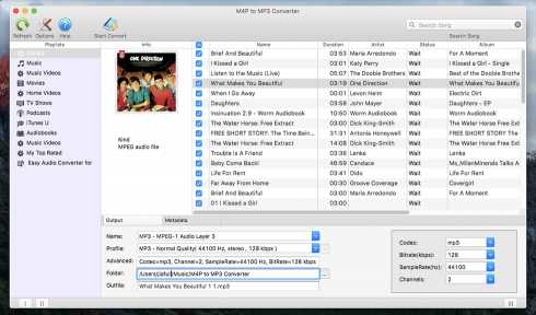Download M4P to MP3 Converter for Mac