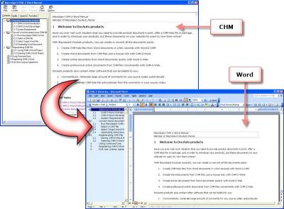 Download Macrobject CHM-2-Word 2007 Professional