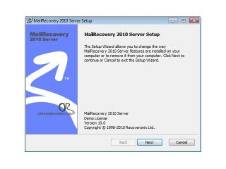 Download MailRecovery Server