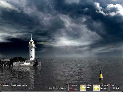 Download Majestic Lighthouse Screensaver