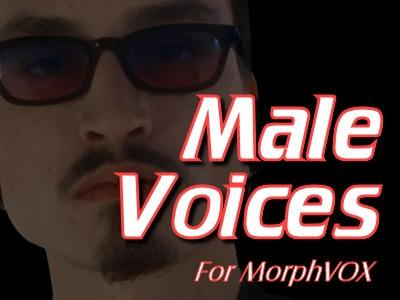Download Male Voices - MorphVOX Add-on