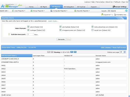 Download ManageEngine ADManager Plus