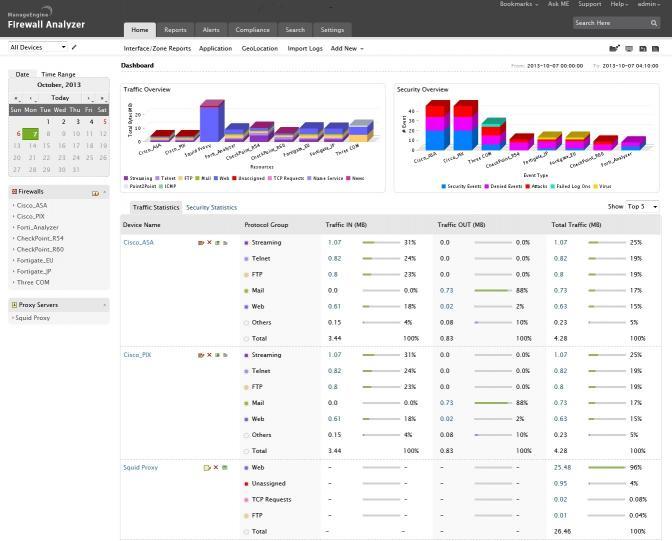 Download ManageEngine Firewall Analyzer