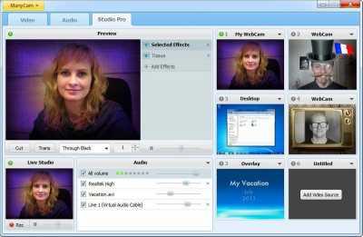 ManyCam Free Webcam Effects