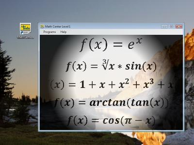 Download Math Center Level 1