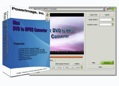 Download Max DVD to MPEG Converter