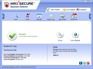Download Max Spyware Detector