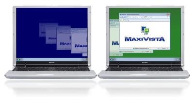 Download MaxiVista - Multi Monitor Software