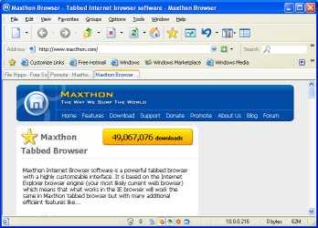Download Maxthon