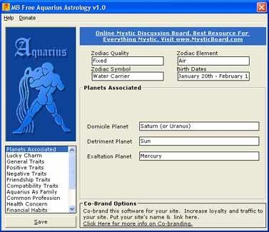 Download MB Aquarius Astrology