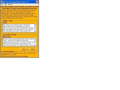 Download MB Astrology Nithya Yoga