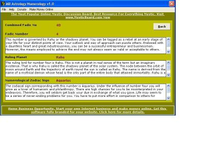 Download MB Astrology Numerology