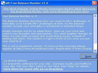Download MB Balance Number