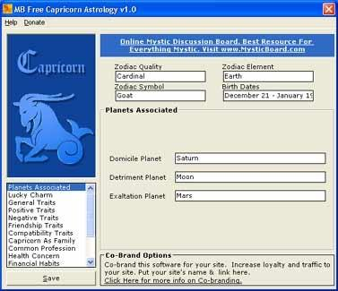 Download MB Capricorn Astrology